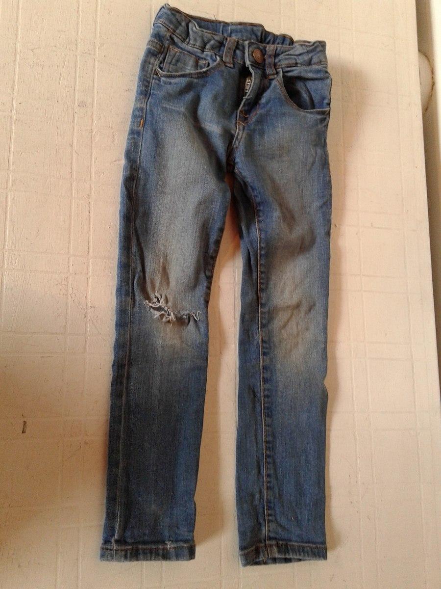 seleccione para genuino proveedor oficial ropa deportiva de alto rendimiento Pantalón De Jeans Zara Kids 5-6 Años Elastizado - $ 283,95