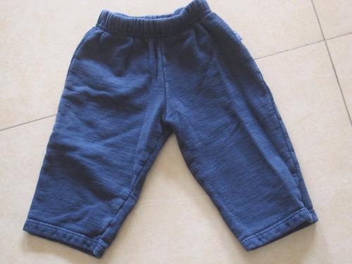 pantalon de jogging talle 3 meses azul de bebe unisex
