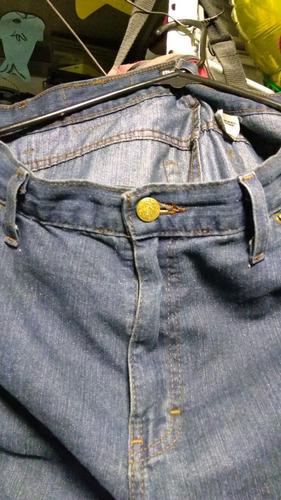 pantalon de mezclilla azul marca cimarrón magnum