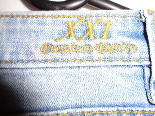 pantalón de mezclilla dama premium demin talla 11/12 (34)