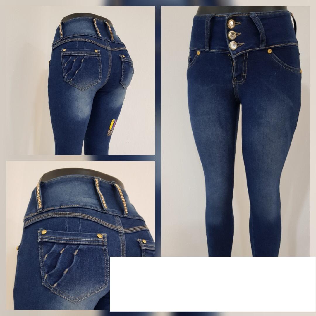 Pantalon De Mezclilla De Dama De Mayoreo - $ 185.00 en ...
