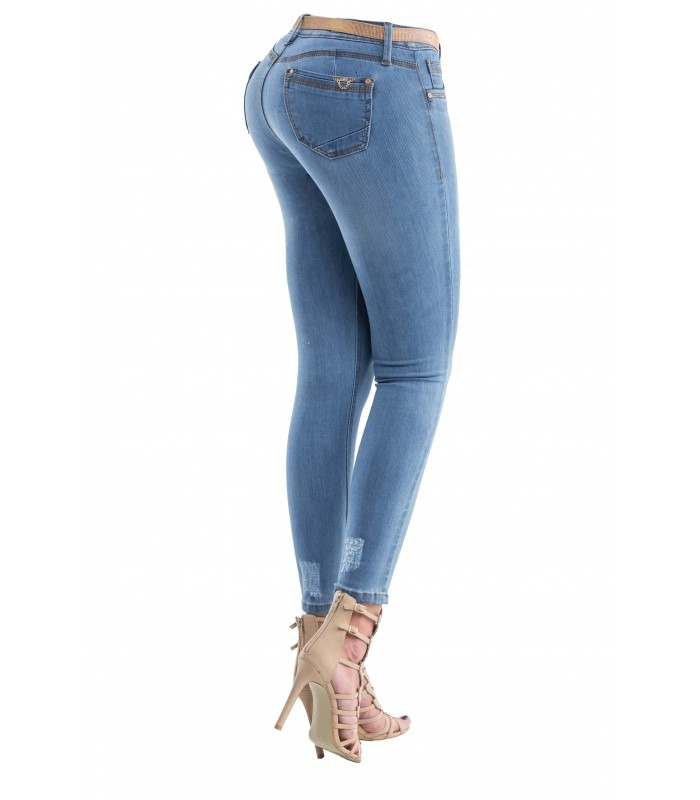 Pantalon De Mujer Moda Savi Jeans Corte Colombiano ...