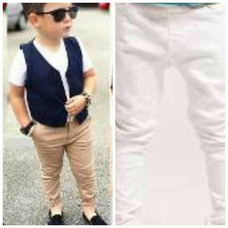 cb86ced5b pantalon de niño moda slim fi. Cargando zoom.