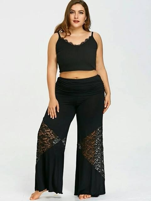 bc4a49b42f37 Pantalon De Playa Para Gorditas-l-xl-xxl - Ivanitafashion!!!
