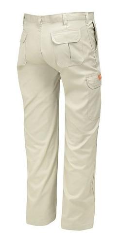 pantalon de trabajo ombu aire libre modelo cargo mujer