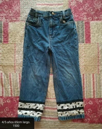 pantalon de vaquerita 4/5 años disney