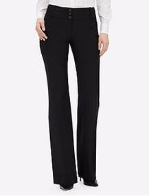 Pantalon De Vestir Ancho Formal Negro Para Mujer