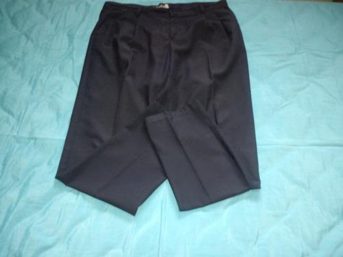 pantalon de vestir azul marino tipo escolar