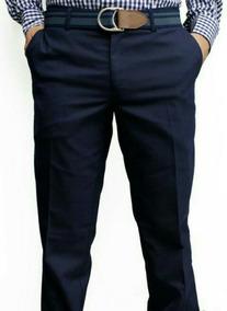 Pantalon De Vestir Caballero Azul Marino Marca Paramount