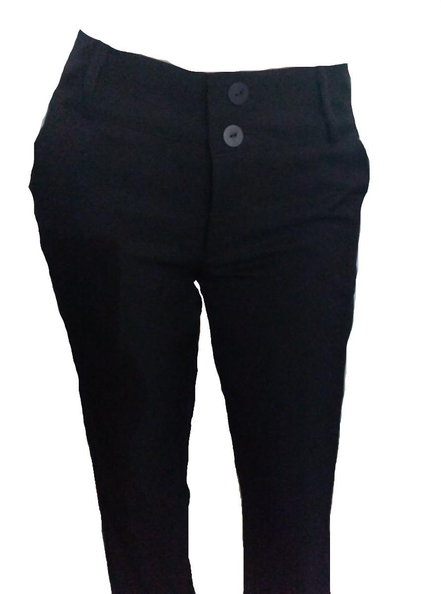 pantalon de vestir casual de dama negro talla 26. Cargando zoom. 4cdbea891508
