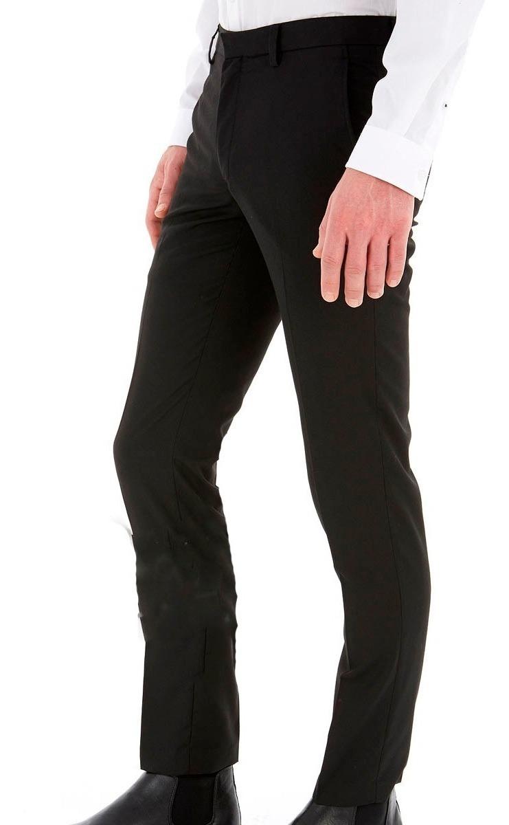 87d9fbcdd Pantalon De Vestir Chupin Hombre Alpaca Excelente Calidad