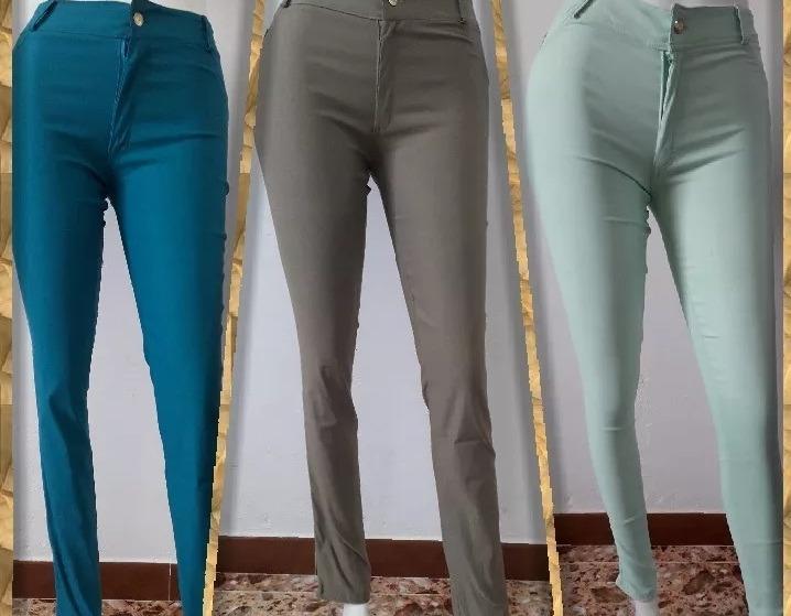 Calculadora Tono Cubo Pantalones De Vestir Para Dama Corte Alto Ocmeditation Org