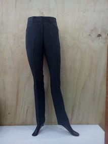 2c91011fea Pantalones De Vestir Entubado Mujer Azul Marino - Pantalones y Jeans en  Mercado Libre México