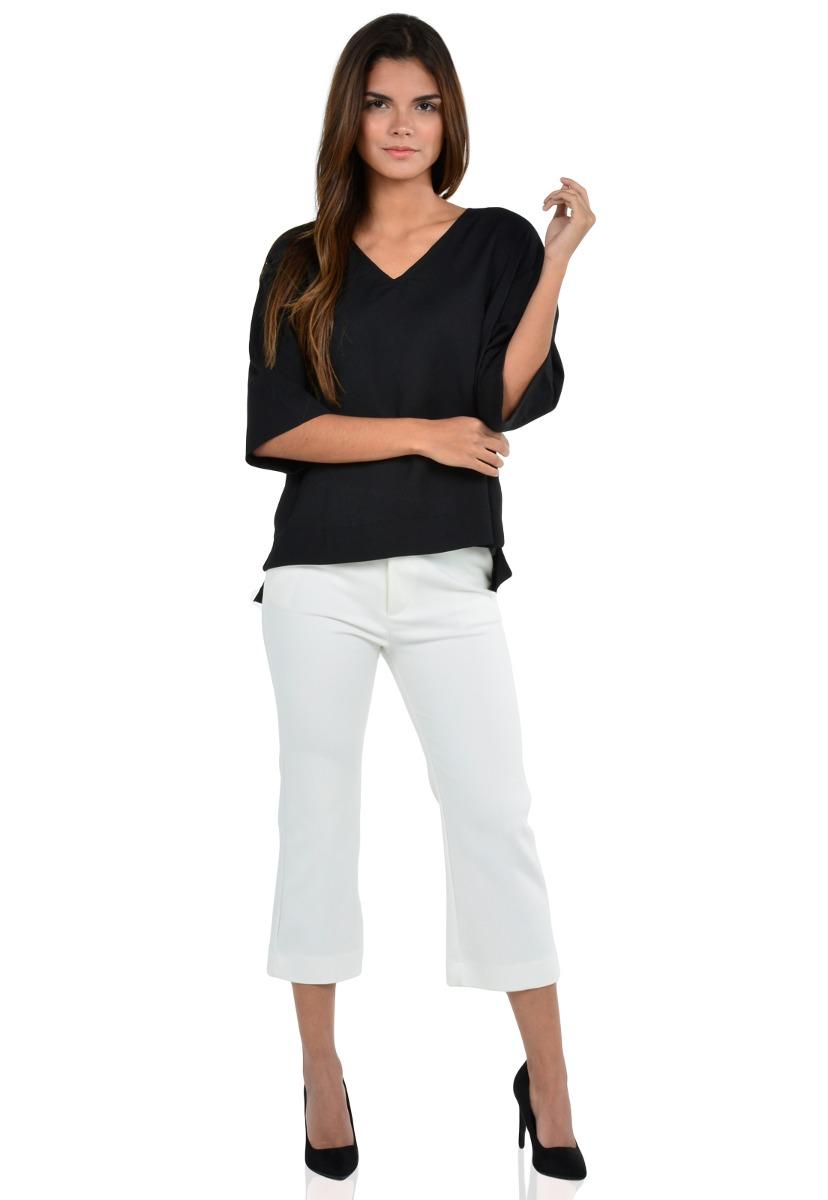 pantalón de vestir de mujer exotik ew172-1110-771 blanco. Cargando zoom. 6fd27a0a7f24