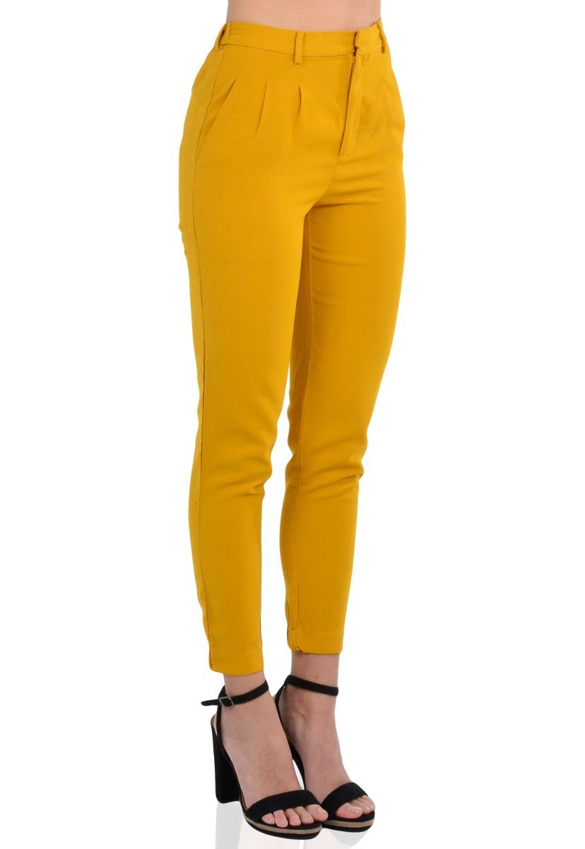 هدير محكمة منقار Pantalon Amarillo Mujer Secure Folders Com