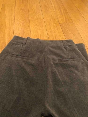 pantalón de vestir gris - portsaid