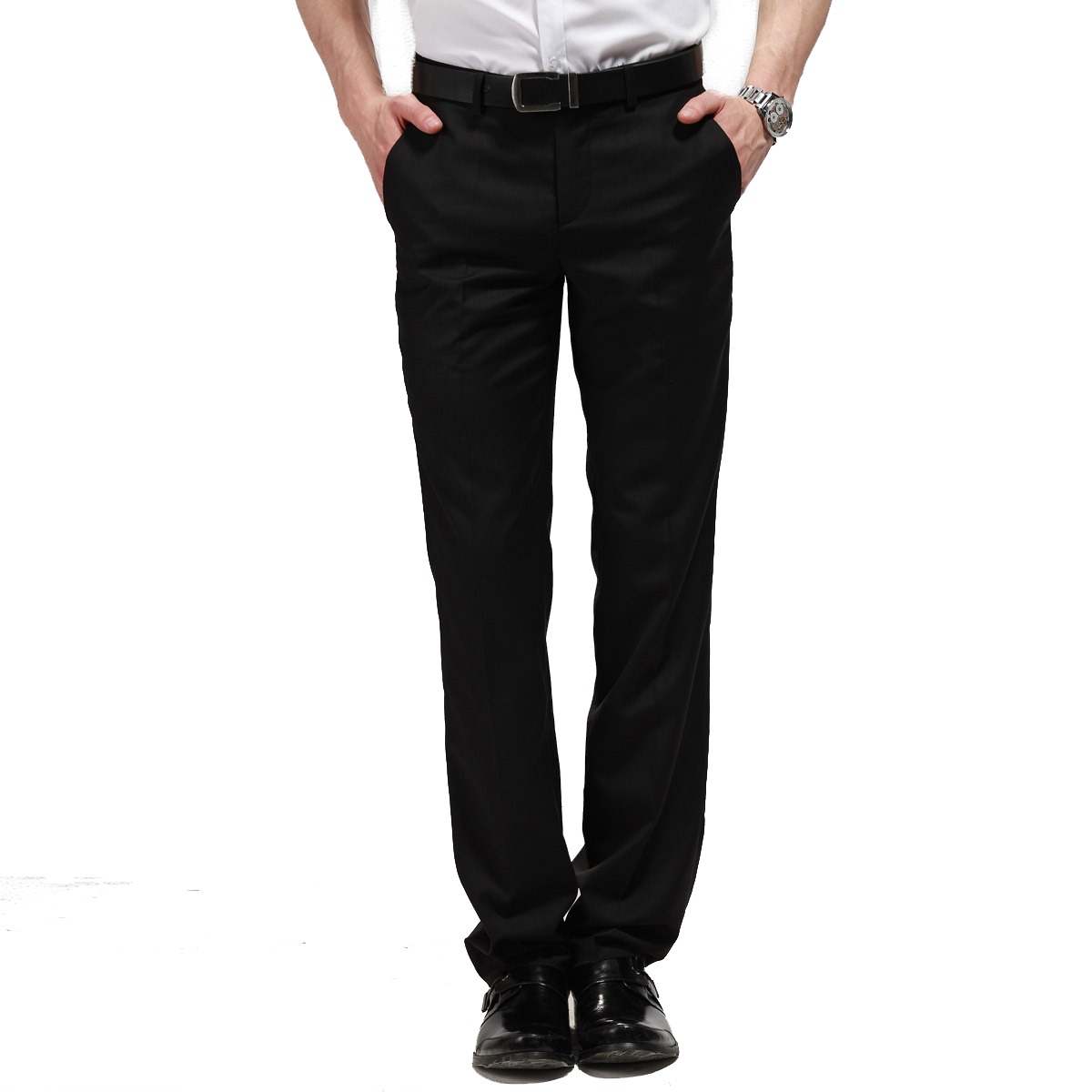 Los pantalones de este tipo son los que se les considera como los trajes masculinos por excelencia, especialmente en los pantalones de vestir. Así es que si tienes un evento o celebración especial al que deseas ir elegante, no dudes en usar un pantalón de vestir de pinza.