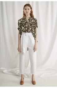 buscar el más nuevo sensación cómoda precio bajo Pantalon Pinzado Mujer Pantalones - Pantalones, Jeans y ...