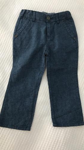 pantalón de vestir lino marca italiana chicco talle 2 anos