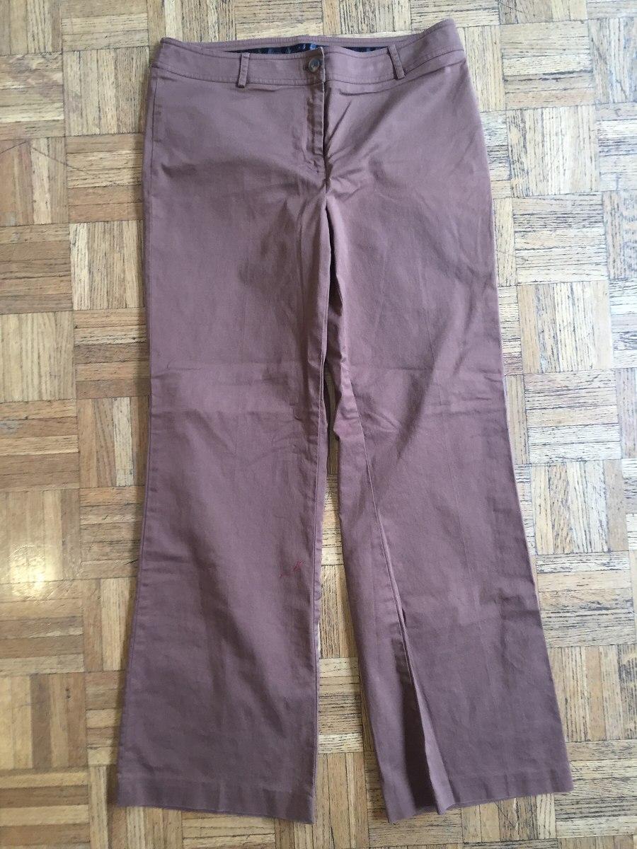 Pantalon De Vestir Marron Dama Talle 10 Apostrophe De Usa - $ 760,00 ...