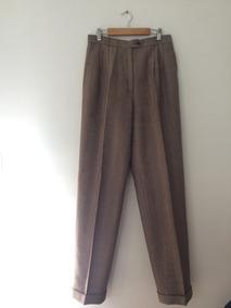 aa6985665 Pantalon De Vestir Mujer Lana Marron- El Corte Ingles España