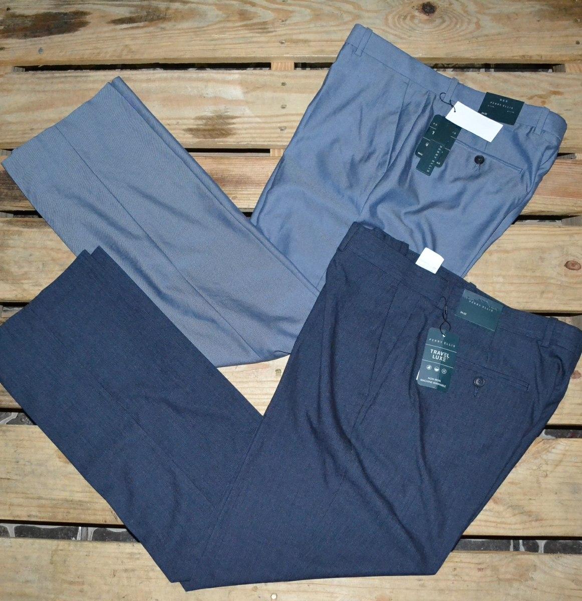 44f62c21b3970 pantalon de vestir perry ellis original nuevo talla 34. Cargando zoom.