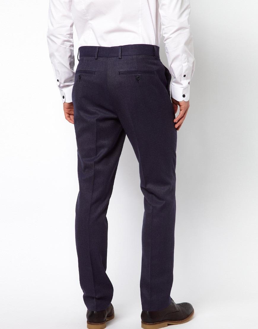 995f4f68f Pantalon De Vestir S Hombre Azul Slim Fit Envio Gratis -   19.990 en ...