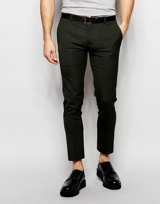 4e2ef5830b8ee Pantalon De Vestir Skinny