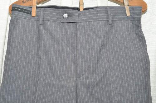 pantalón de vestir vila romana (brasil) excelente calidad