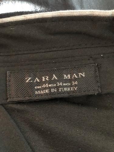 pantalon de vestir zara