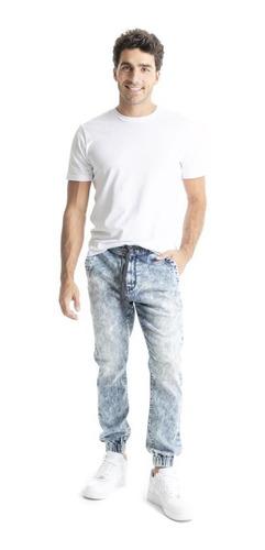 pantalón denizen® hombre azul jogger marvel