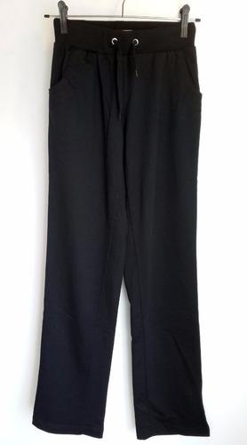 pantalón deportivo de dama corte pierna recta