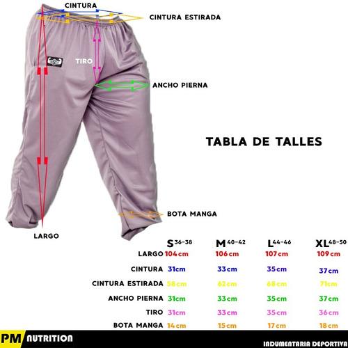 pantalon deportivo hombre babucha gimnasio (dry cool) f