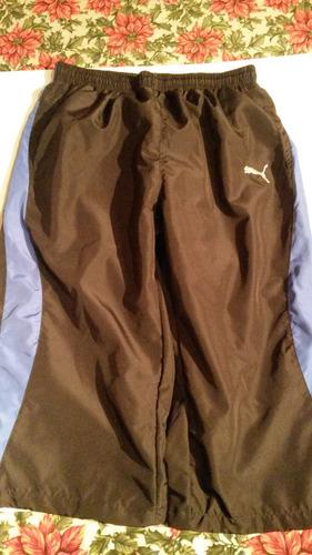 pantalon deportivo puma para hombres. talla l.