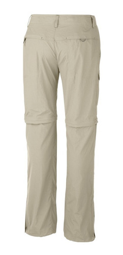 pantalon desmontable columbia cargo silver ridge mujer
