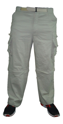 pantalon desmontable explorer cargo gabardina