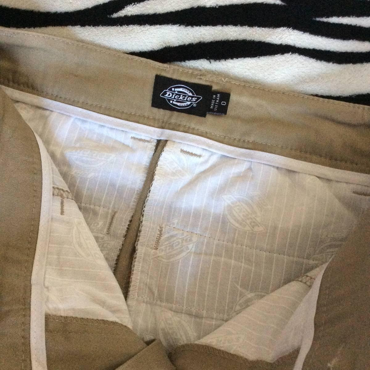 Pantalon Dickies Curvey Slim Fit (talla 0) Mujer Dama ...