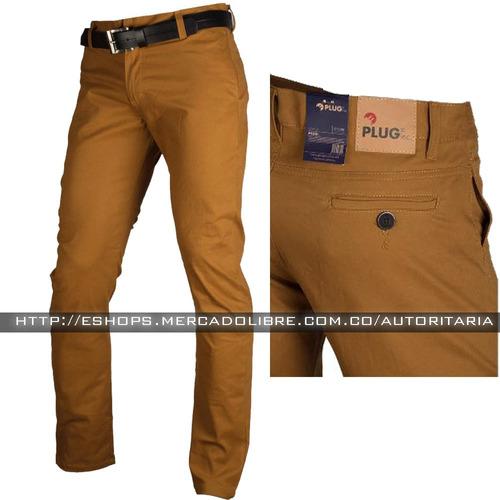 pantalon drill informal, hombre oferta slim fit,envìo gratis