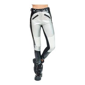 Pantalon Eco Cuero Slim 47 St Talle 38 Negro