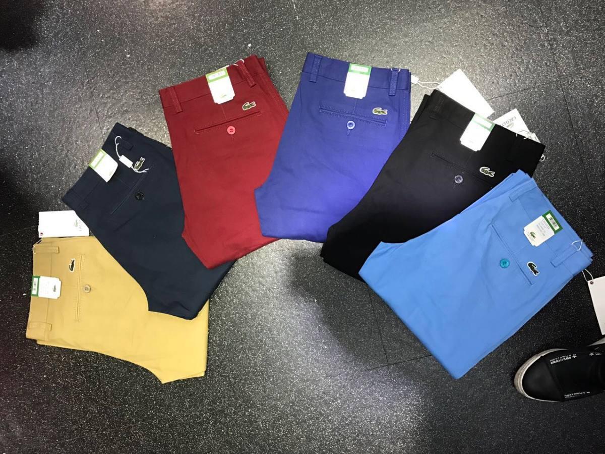 Pantalon En Dril Lacoste Burberry Tommy Slim Fit Hombre 79 000 En Mercado Libre