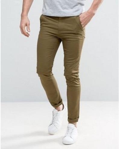 cf21bba1bf Pantalon Entubado Skinny Corte Slim Hombre Lote 3 Piezas -   900.00 ...