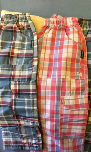pantalón escocés / a cuadros - ultimos - imperdibles! nuevos