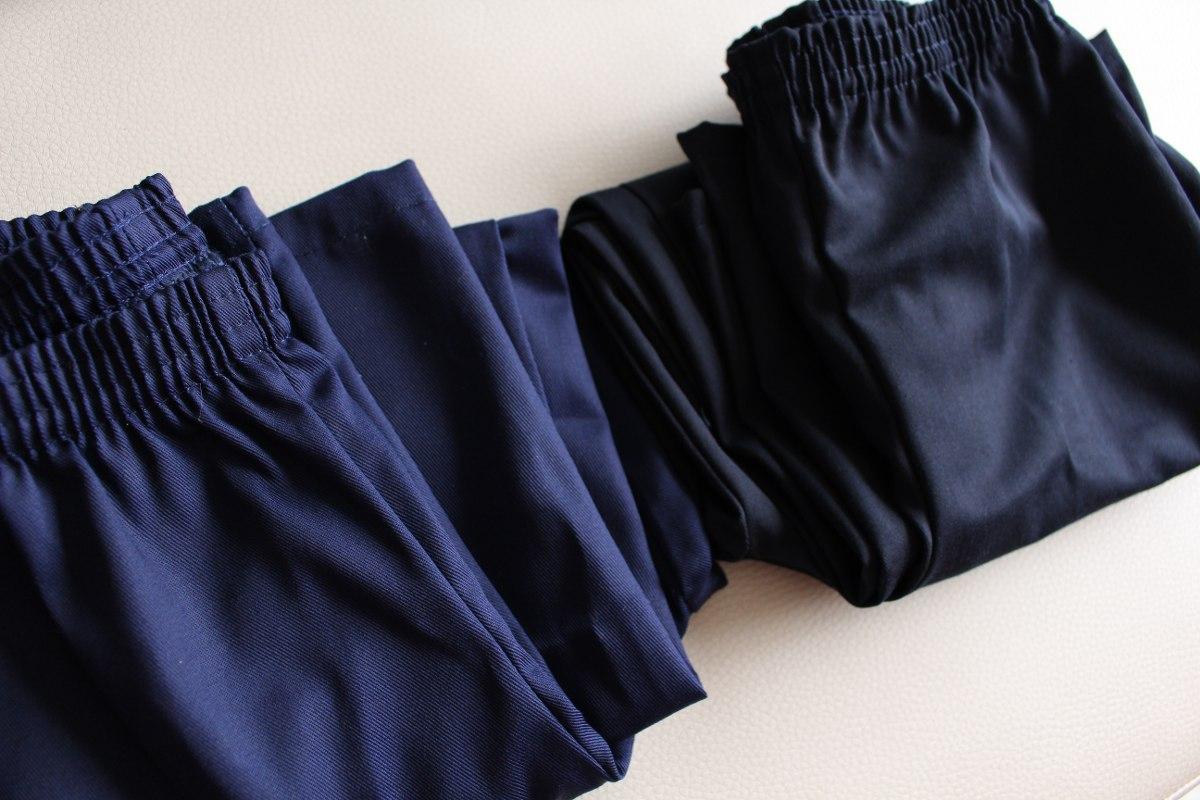Pantalón Escolar Con Elástico Para Niños Y Niñas - Bs. 18