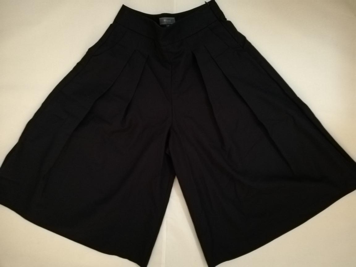 Pantalon Falda Short Basement Zara