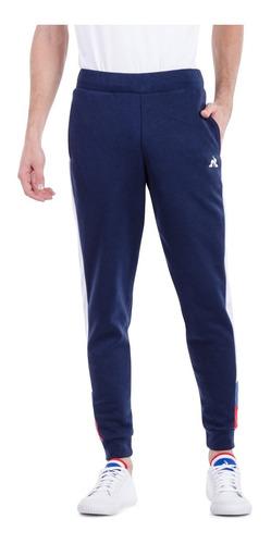 pantalón football slim pant azul hombre le coq sportif orig.