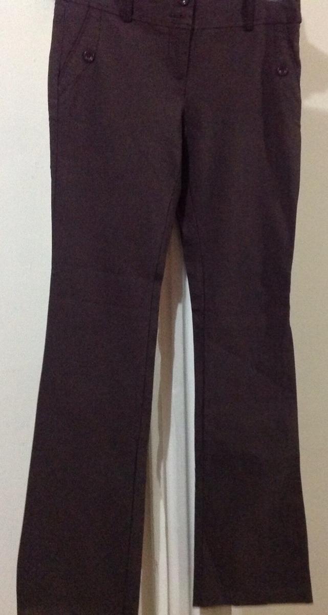pantalón formal vestir café stretch ejecutivo recto c130. Cargando zoom. 6b589bf4745a