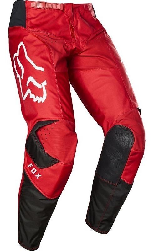 Moto Accion Pantalon Fox 180 Prix Rojo Flama 2020 Motocross Enduro Atv 2 995 00