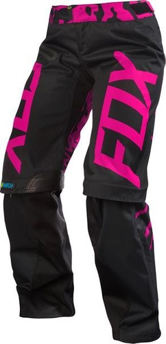 pantalon fox racing switch dama motocross rzr