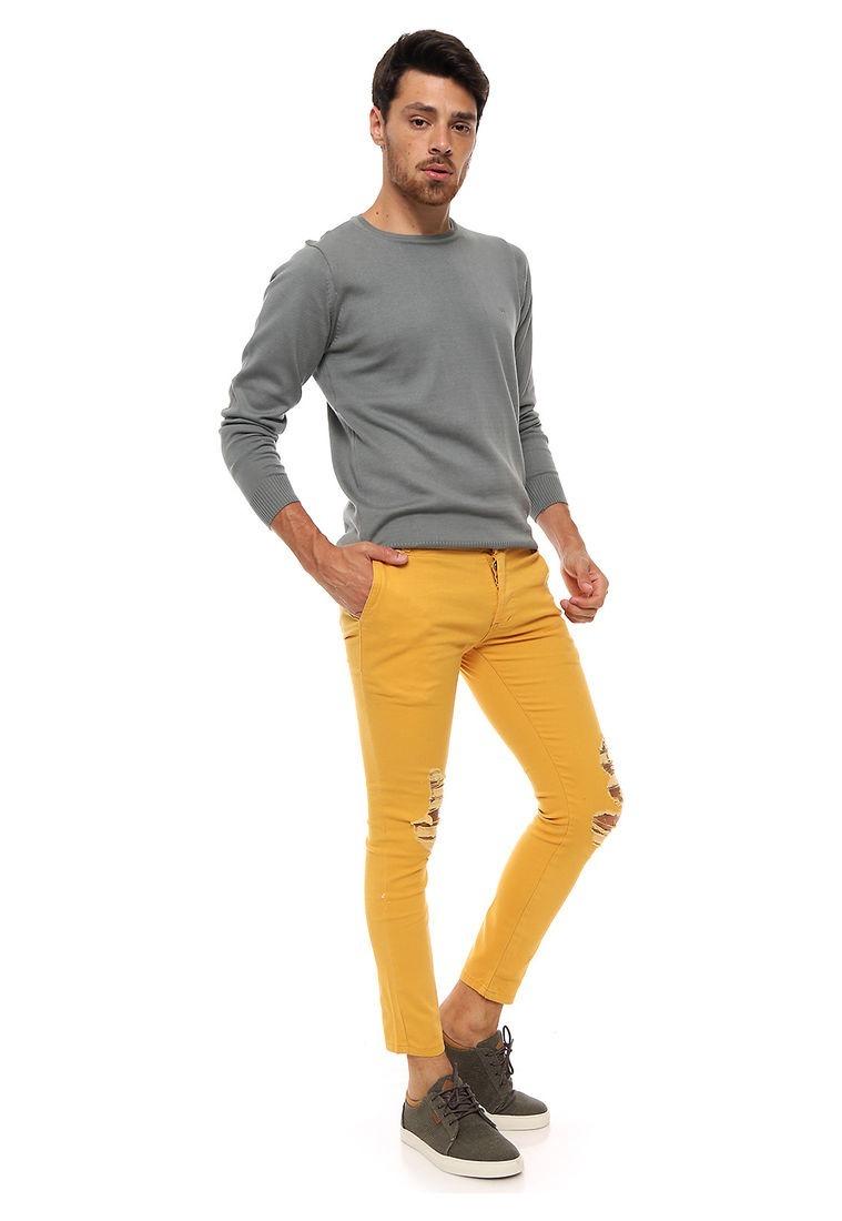 bd53561a04 Pantalón Gabardina Hombre Con Rotura Varios Colores! -   759