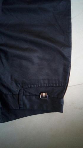 pantalón  gap de vestir negro dama con rayas al ladotalla 4